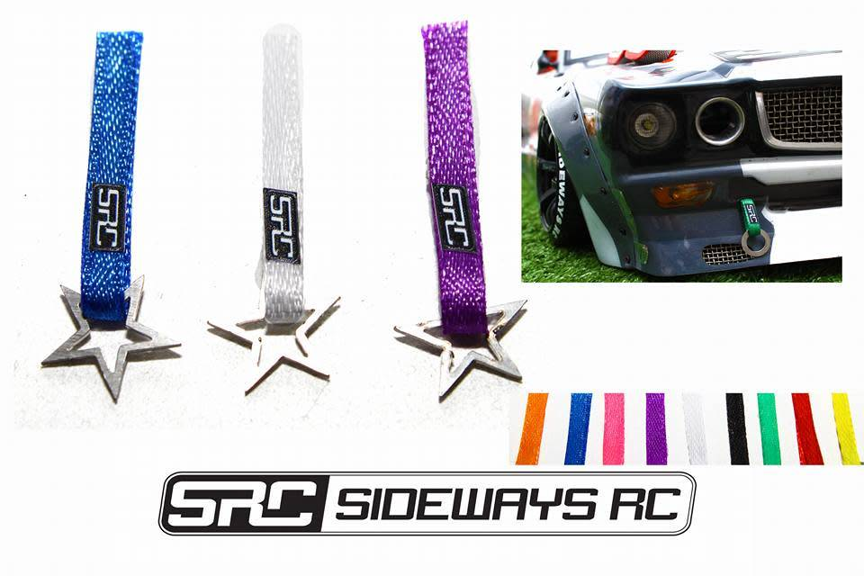 SRC SRCTOWSTAR NYLON TOW STRAP WITH STAR HOOK BY SRC
