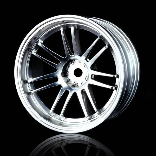 MST MXSPD102023FS Flat silver RE30 wheel offset 8 (4) by MST 102023FS