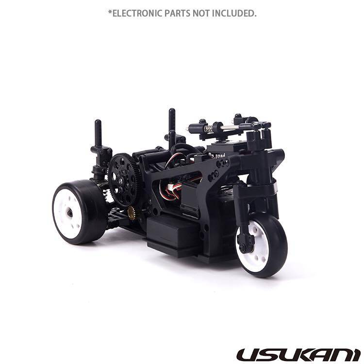 Usukani US88200 D3T 1/8 RC EP DRIFT TRICYCLE CHASSIS KIT
