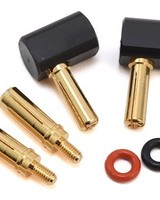 Yeah Racing YEAWPT0121 4mm & 5mm Bullet Angled Connector Set by Yeah Racing