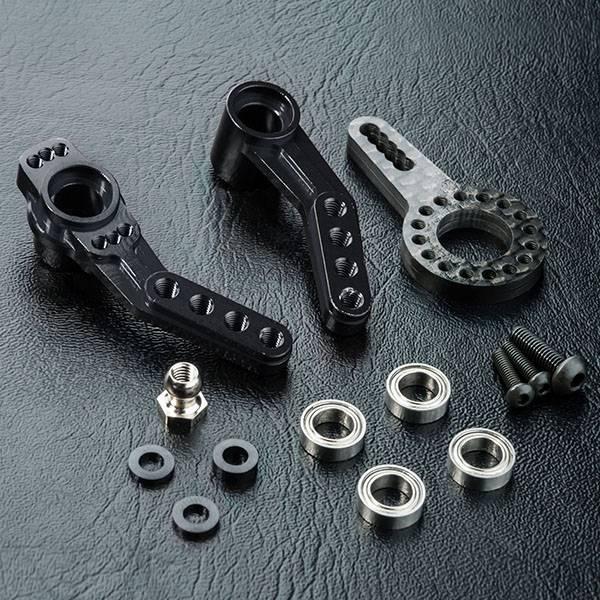 MST MXSPD210589BK RMX 2.0 Alum. steering arm (black) 210589BK by MST
