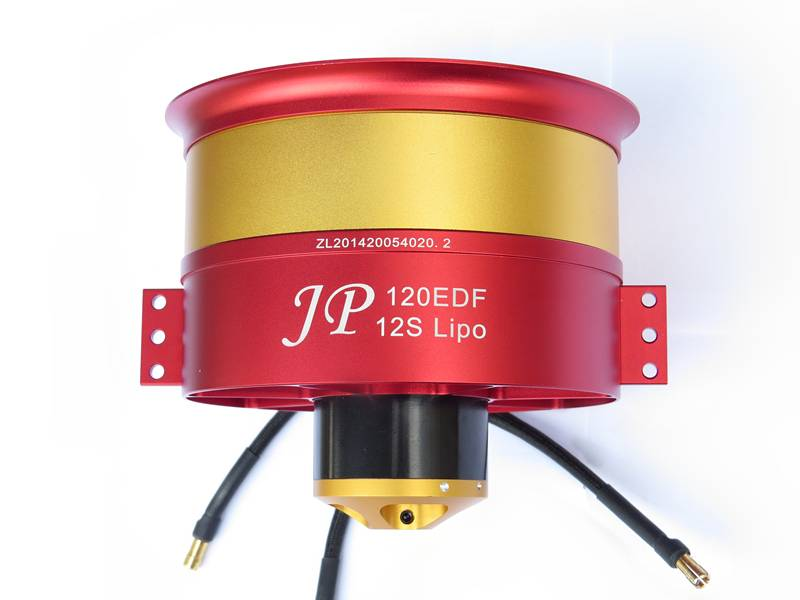 JP Hobby JPHEDF12012SCR High Thrust 120mm EDF w/ 12S Motor Counter Rotating JP Hobby