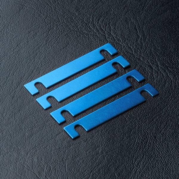 MST MXSPD820063B Suspension mount spacer 0.5mm (4) (blue) 820063B by MST