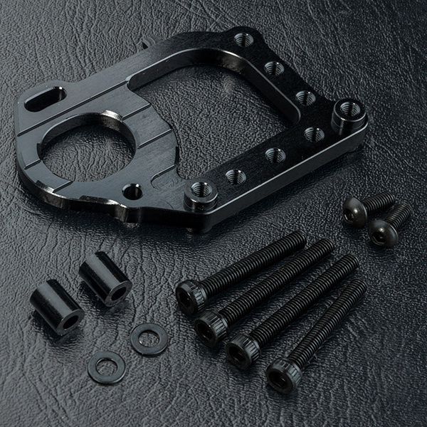 MST MXSPD210609BK TCR Alum. motor mount (black) 210609BK by MST