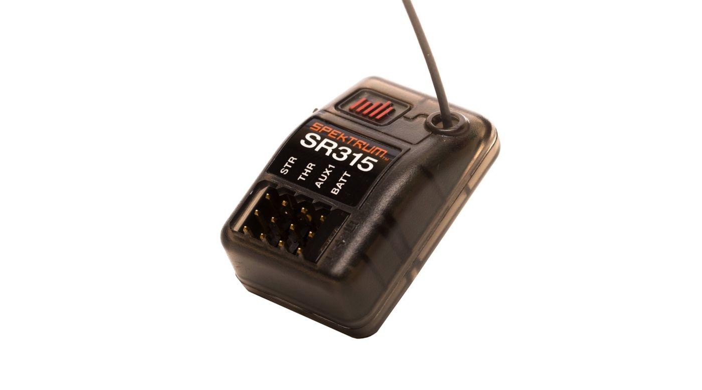 Spektrum SPMSR315 SR315 3-Channel DSMR Sport Receiver by Spektrum