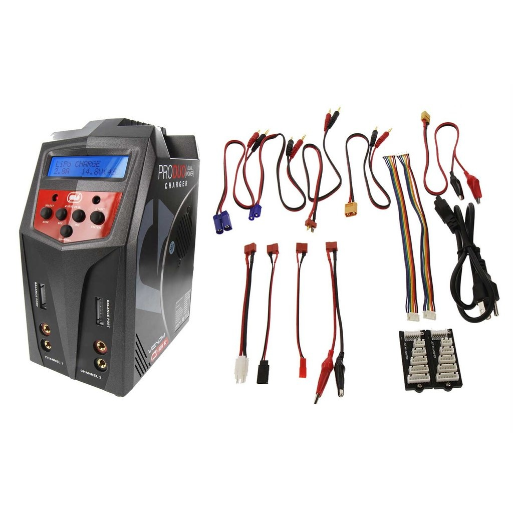 Venom VNR0685 Pro 160W Duo AC/DC LiPo and NiMH Battery Charger by Venom
