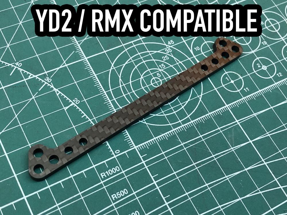 Scale Reflex SR864100 YD-2/RMX Carbon Body Post Brace by Scale Reflex