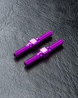 MST MXSPD810008P Alum. reinforced turnbuckle 3X25 Purple 810008P