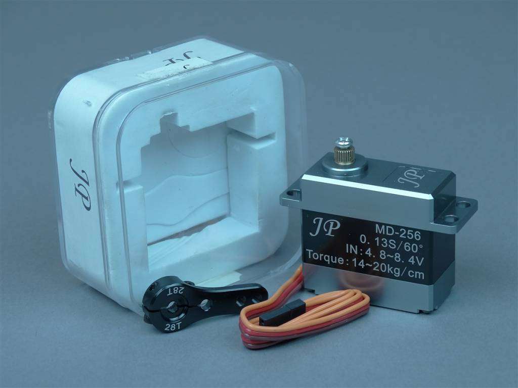 JP Hobby JPHSRVMD256 High Voltage Aluminium Alloy Digital Servo JP Hobby