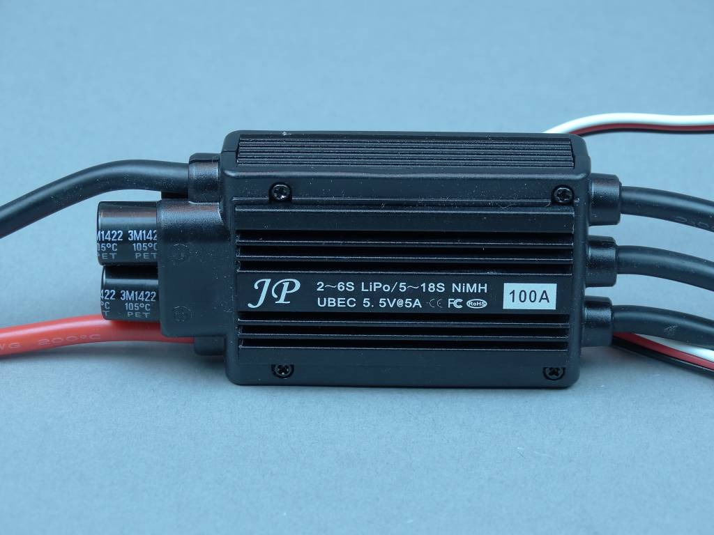 JP Hobby JPHESC100 100A High Voltage ESC JP Hobby