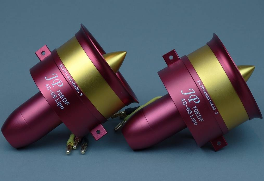 JP Hobby JPHEDF0706STW Twin High Thrust 70mm EDF's with 6S Motors JP Hobby
