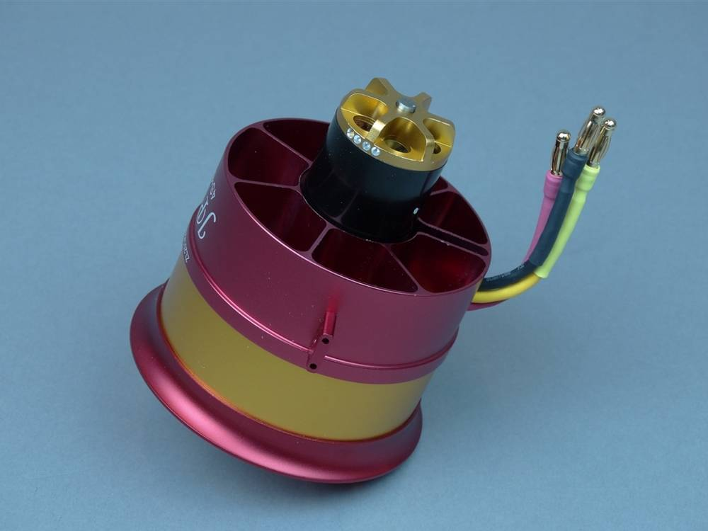 JP Hobby JPHEDF07046SCR High Thrust 70mm EDF Super Version with 4S to 6S Motor - Counter Rotating by JP Hobby