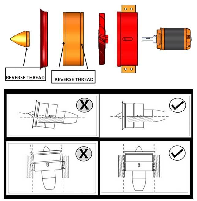 JP Hobby JPHEDF07046S High Thrust 70mm EDF with 4S-6S Motor  JP Hobby  (JPHEDF07046S)