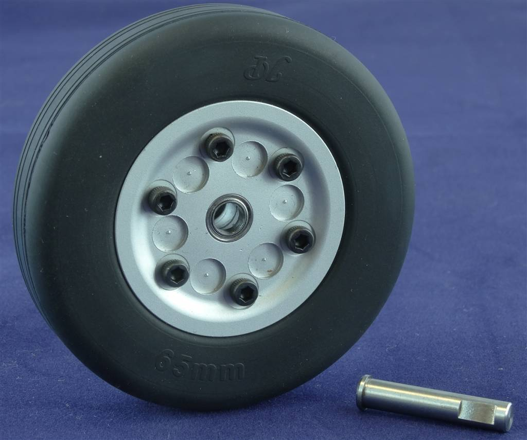 JP Hobby JPHWH0565 65mm Wheel with bearings and 5mm axle JP Hobby
