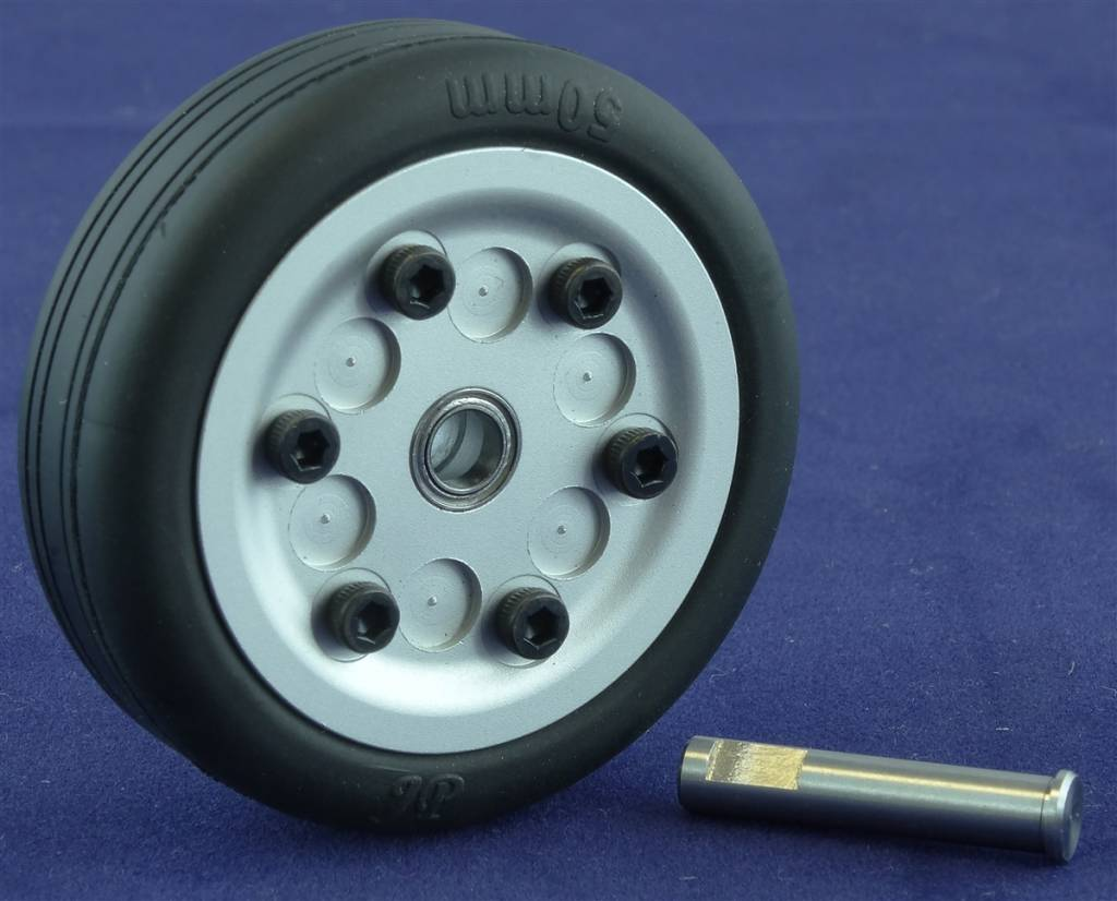 JP Hobby JPHWH0550 50mm Wheel with bearings and 5mm axle JP Hobby