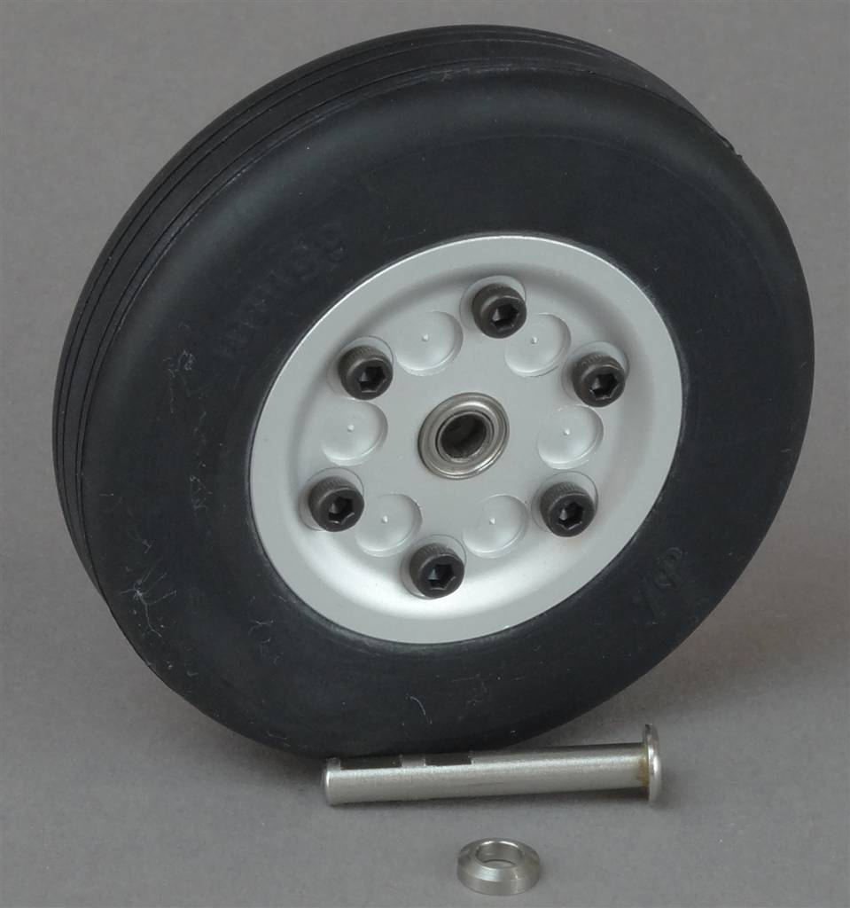 JP Hobby JPHWH0465 65mm Wheel with bearings and 4mm axle JP Hobby
