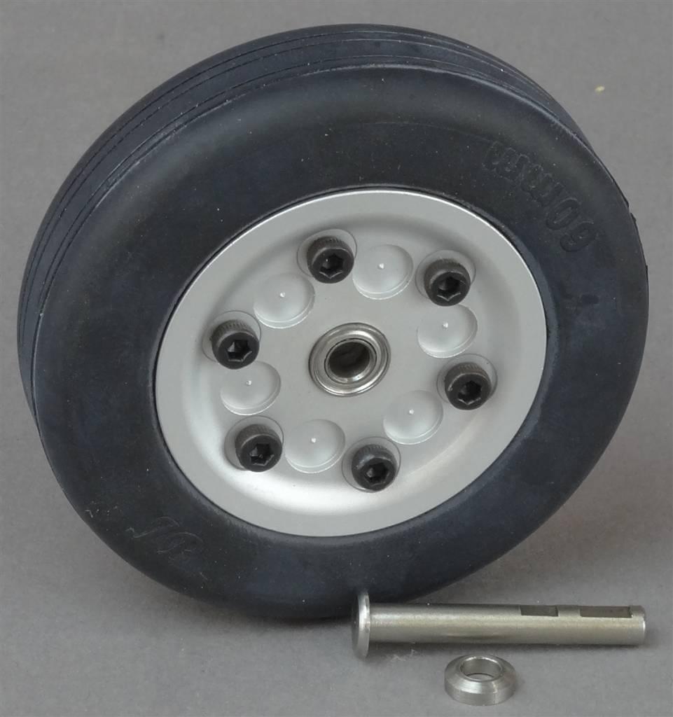 JP Hobby JPHWH0460 60mm Wheel with bearings and 4mm axle JP Hobby