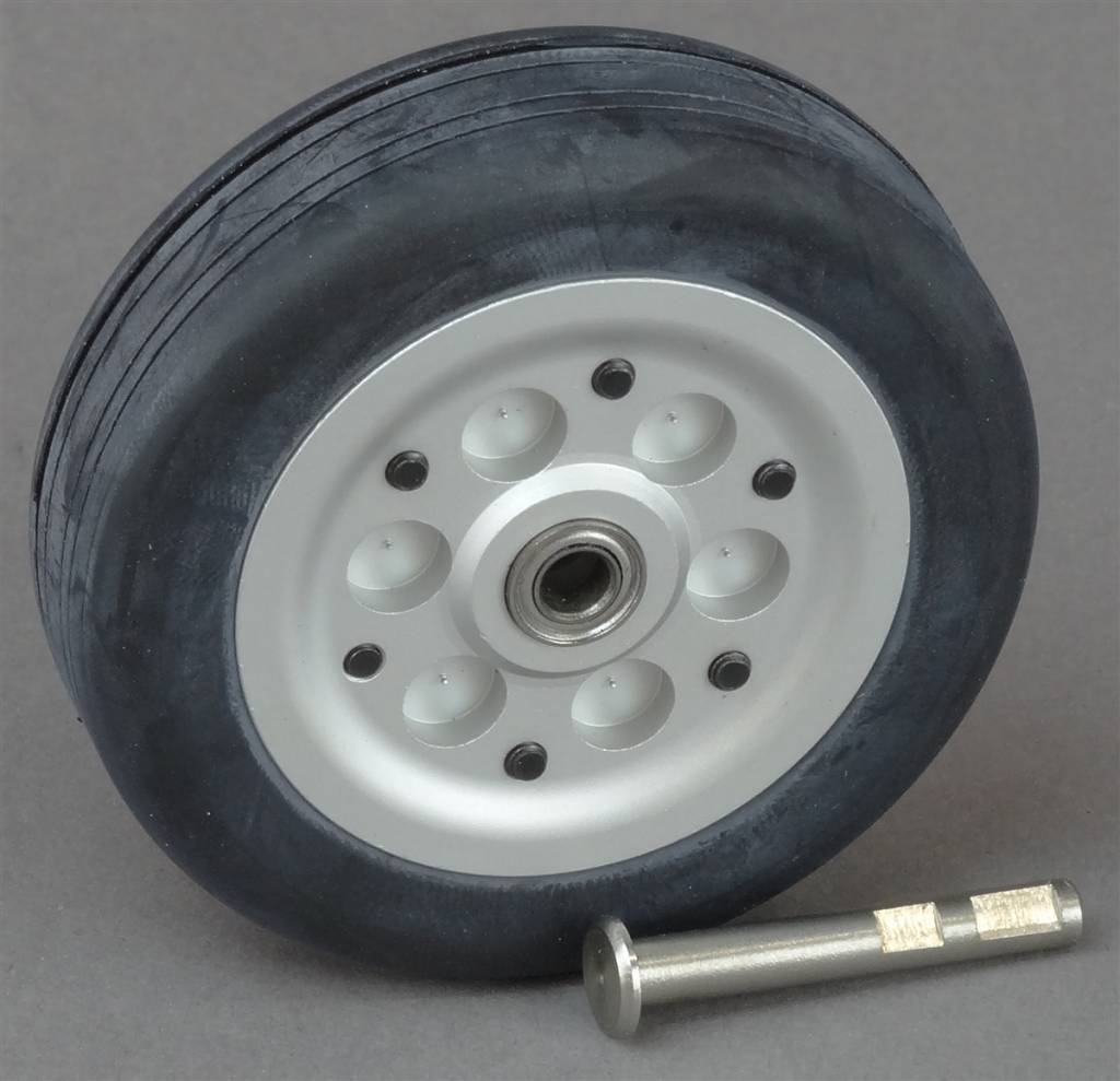 JP Hobby JPHWH0455 55mm Wheel with bearings and 4mm axle JP Hobby