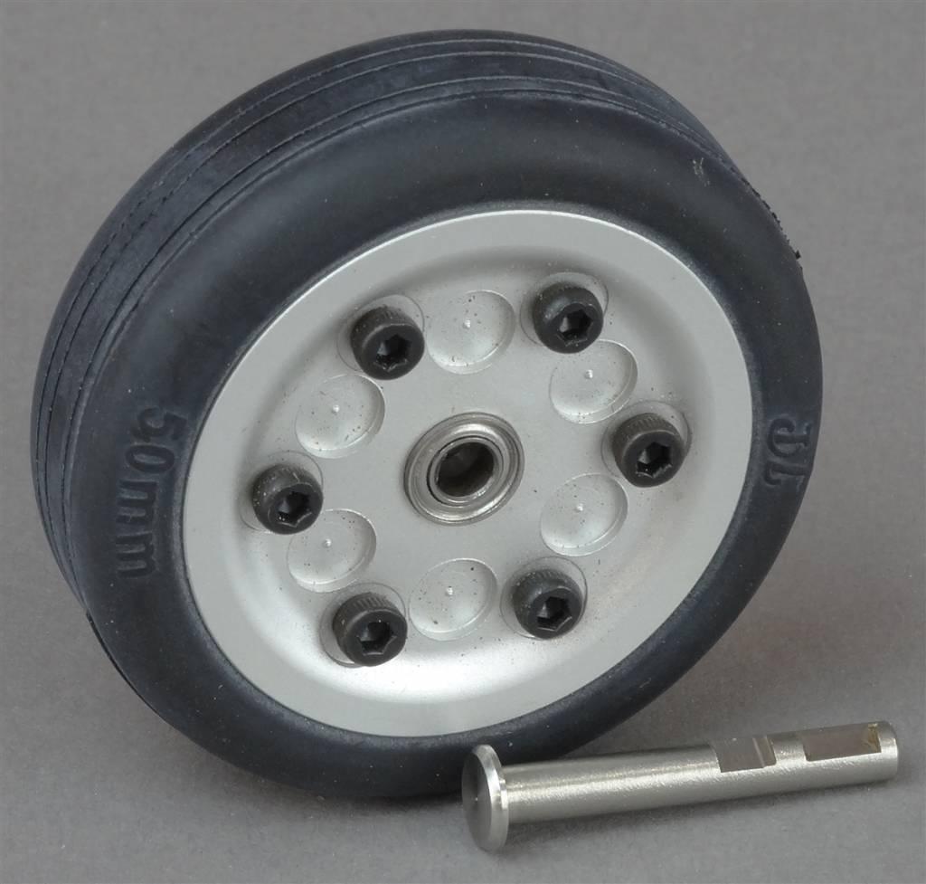JP Hobby JPHWH0450 50mm Wheel with bearings and 4mm axle JP Hobby