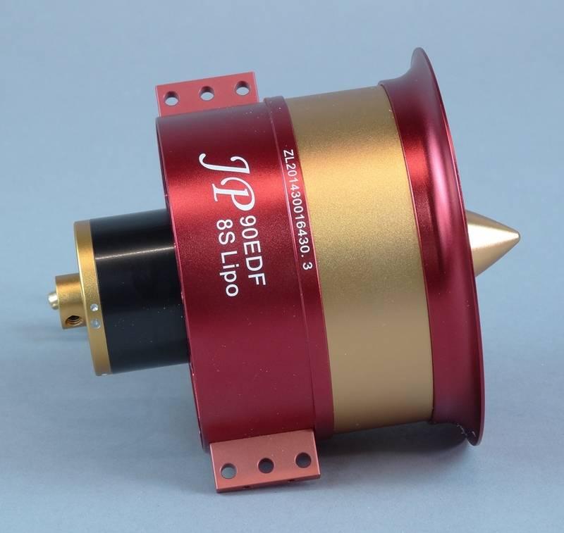 JP Hobby JPHEDF09008S High Thrust 90mm EDF with 8S Motor JP Hobby