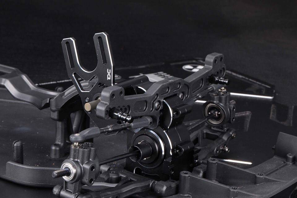 Team DC DC-50714 Aluminum CNC Gearbox for the Yokomo YD-2 (Silver) by Team DC