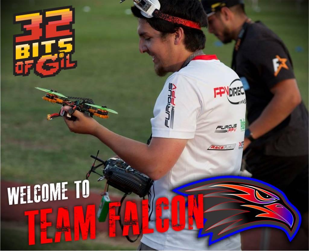 Gil Coronado (32BitsofGil) joins Team Falcon FPV