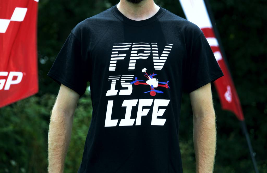 Falcon Hobby Supply FPV is Life T-Shirt