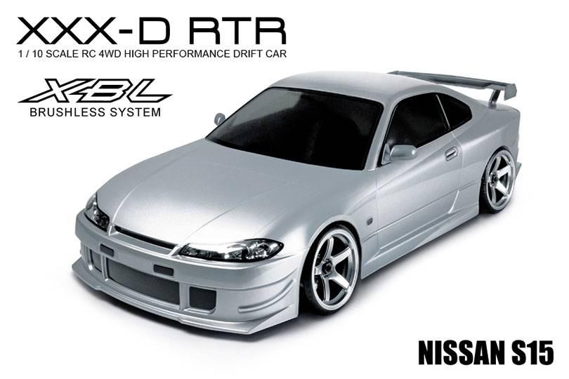 MST MXSPD533212S XXX-D 1/10 Scale 4WD RTR - Nissan S15 (BRUSHLESS) - 533212S MST