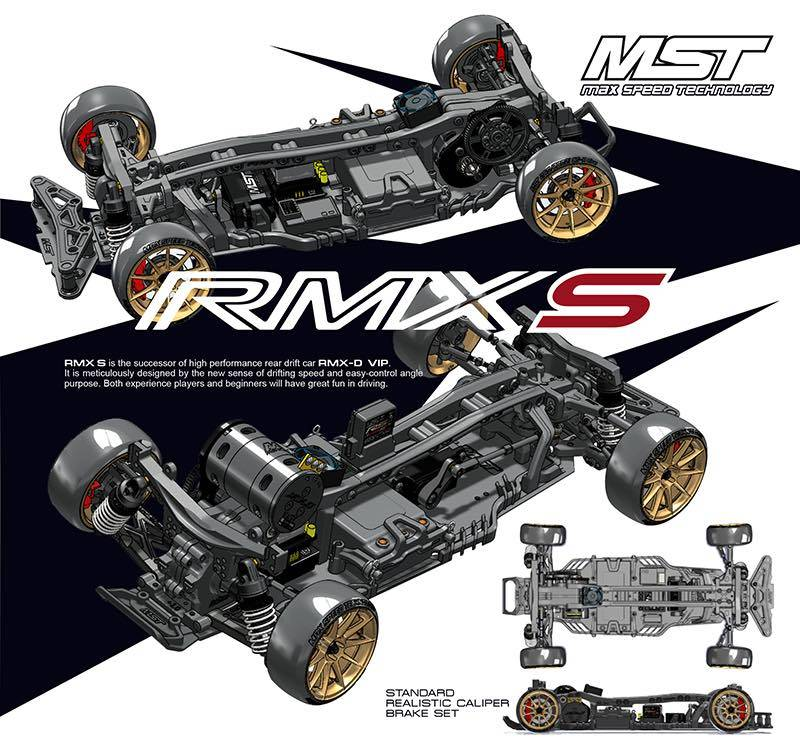 MST MXSPD532161 RMX 2.0 S 1/10 RWD EP Drift Car KIT by MST532161