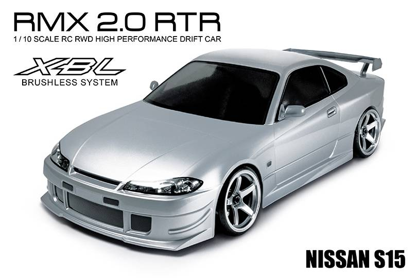 MST MXSPD533705S RMX 2.0 1/10 2WD RTR EP Drift Car (brushless) S15 (silver) by MST533705S
