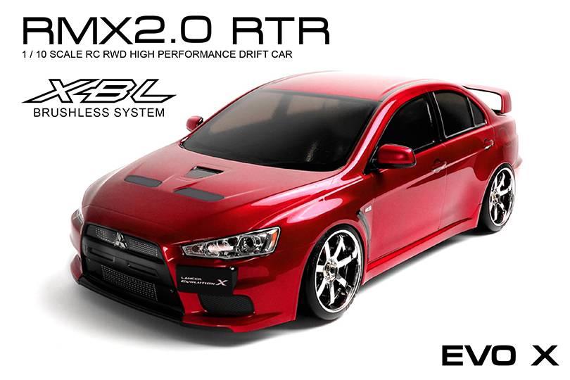 MST MXSPD533710R RMX 2.0 RTR EVO X (red) (brushless) by MST 533710R