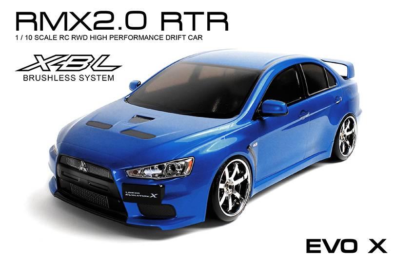 MST MXSPD533710B RMX 2.0 RTR EVO X (blue) (brushless) by MST 533710B