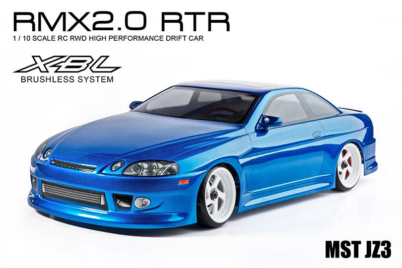 MST MXSPD533707B RMX 2.0 RTR JZ3 (blue) (brushless) 533707B by MST