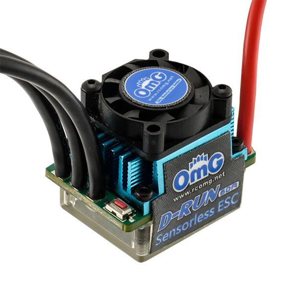 OMG OMGEBS002 D-RUN 60A ESC (Blue) - OMG