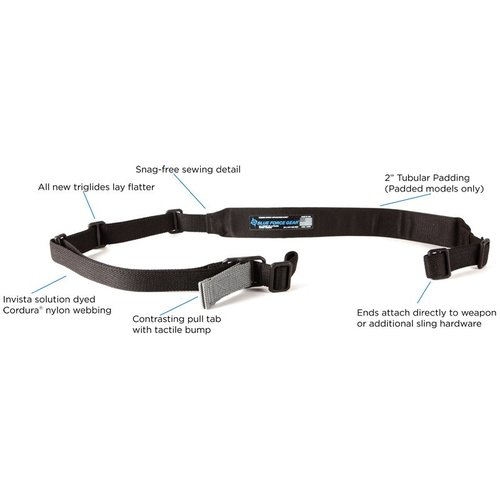 Blue Force Gear Vickers Sling Padded Nylon Adjuster 2 point Carbine