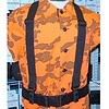 "CALDE RIDGE Suspenders Heavy Duty for 2"" Belt with Snaps"