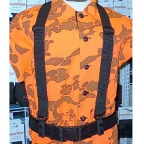 "CALDE RIDGE Suspenders Heavy Duty for 2"" Belt with Snaps"