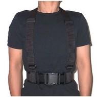 "CALDE RIDGE Suspenders Heavy Duty for 2.25"" Belt with Snaps"