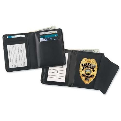 (+) Deluxe Hidden Badge Credit Card Wallet