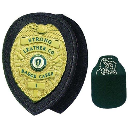 Recessed Badge Holder For Neck or Belt