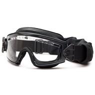 Smith Optics LowPro Regulator, Black Frame, w/ Clear, Grey