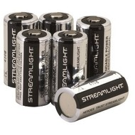Streamlight CR123a 3V Battery Streamlight 6 Pack