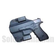 Solely Canadian Concealment Holster R/H Glock 17/22/X300U-A SureFire Light Black