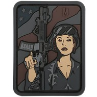 Maxpedition Patch SOLDIER GIRL SWAT