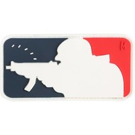 Maxpedition Patch MAJOR LEAGUE SHOOTER SWAT Red/White/Blue