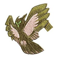 5.11 Tactical Owl Reaper Patch Sand