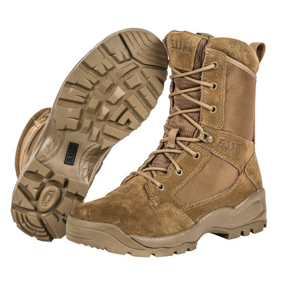 """5.11 Tactical ATAC 2.0 8"""" Side-Zip Desert Dark Coyote Boot"""