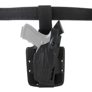 Safariland Model 7304 7TS ALS/SLS Tactical Holster Level III with Dual Strap Leg Shroud