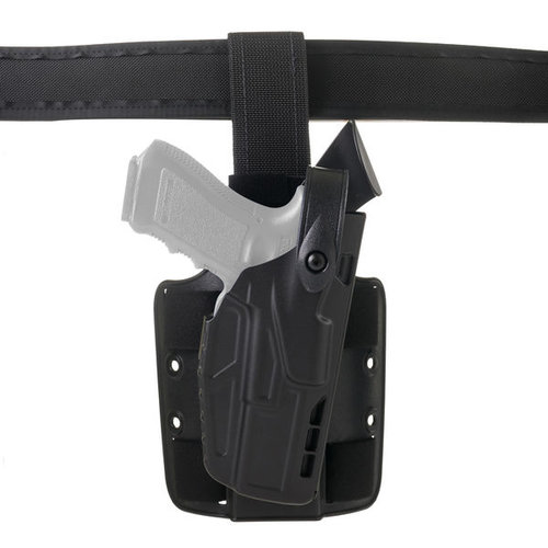 Safariland Model 7304 7TS ALS/SLS Tactical Holster Level III with Dual Strap Leg Shroud