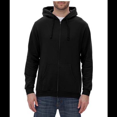 Unisex Zipper Fleece Hoodie